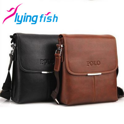 Hot sale free shipping men messenger bags fashion casual men bag leather briefcase shoulder bags QF037(China (Mainland))