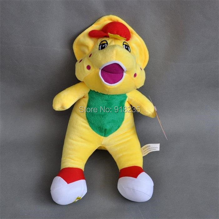 "Free Shipping EMS 30/Lot New Cute 7"" Barney's Friend BJ Plush Singing Doll (I LOVE U)(China (Mainland))"