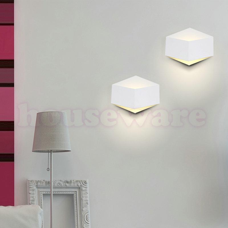 3W Warm White Nordic Single Head Wall Lamp Bedroom Bedside Lamp Aisle Lights Balcony  Room Backlight Study Wall Lamp  zx978