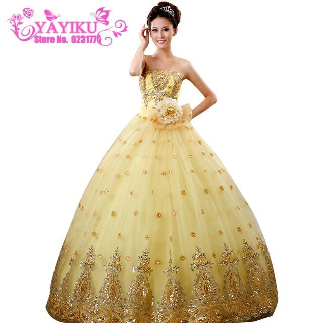 Нью-синий / золотой цвет Quinceanera платье милая бисером молния платье принцессы ...