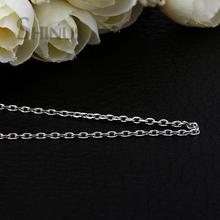 Necklace Collares Collier Kolye Jewelry Colar Bijoux Collier Femme Joyeria Long Choker Collar Women Feminino Silver Link Chain(China (Mainland))