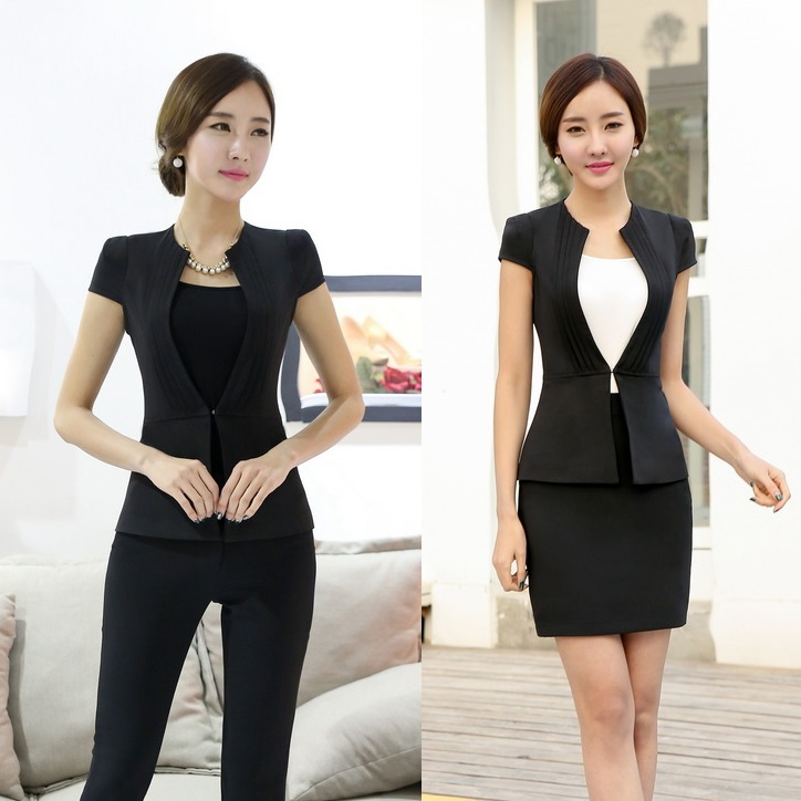 New 2015 summer office uniform designs women business for Office uniform design 2015
