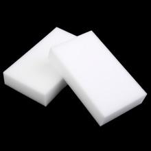 10pcs/lot White Magic Sponge Cleaner Eraser Multi-functional Cleaner Melamine Sponge for Kitchen Bathroom Cleaning 100x60x15mm(China (Mainland))