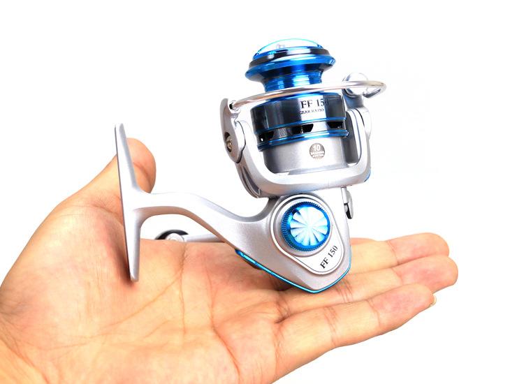 10BB Mini Baitcasting Reel Carpfishing Drum Saltwater Spinning Reel Metal Rocker Arm Okuma China Products Fishing Online Stores(China (Mainland))