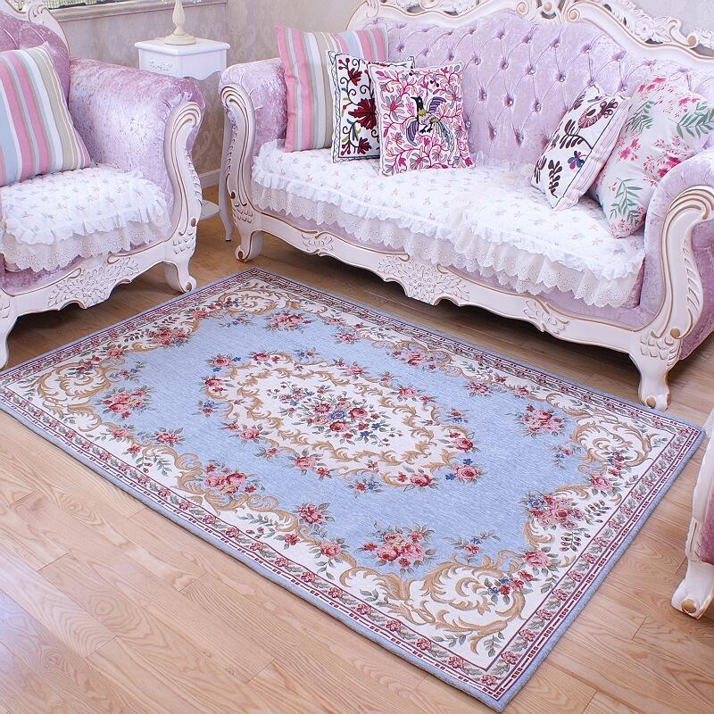 American Retro Carpet Purple Carpet Bedroom High End Carpet Living Room Car