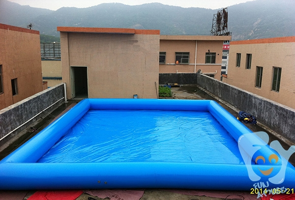 Summer Inflatable Swimming Pool Large Air Pool 15m x 10m height: 65cm High Quality PVC TARPAULIN(China (Mainland))