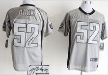ALL Style Signature ! New arrival,Oakland Raiders,24 Charles Woodson, 52 Khalil Mack, 89 Amari Cooper(China (Mainland))