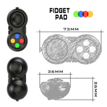 Buy SELLWORLDER 1pcs Fidget Pad Original Retail Box Puzzles Fidget Cube Magic Toy Birthday Gift Toys & Hobbies for $2.88 in AliExpress store