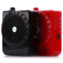 K8 5W loudspeaker Digital Megaphone Amplifiers Portable External Microphone Voice Booster Audio External WIth FM Radio Audio(China (Mainland))