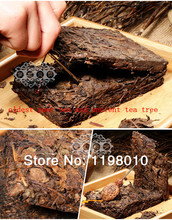 Made in1980 ripe pu er tea 250g oldest puer tea ansestor antique honey sweet dull red