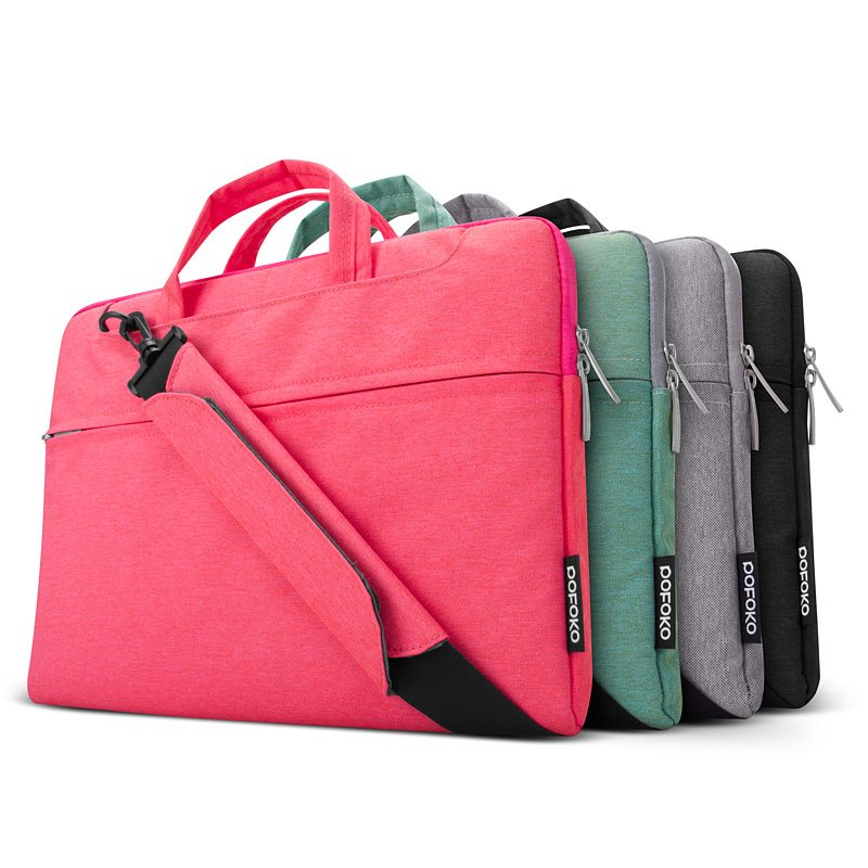 Topsale Oxford cloth Piga thick waterproof Notebook 14 13 15 inch laptop bag for Apple MacBook laptop sleeve solid<br><br>Aliexpress