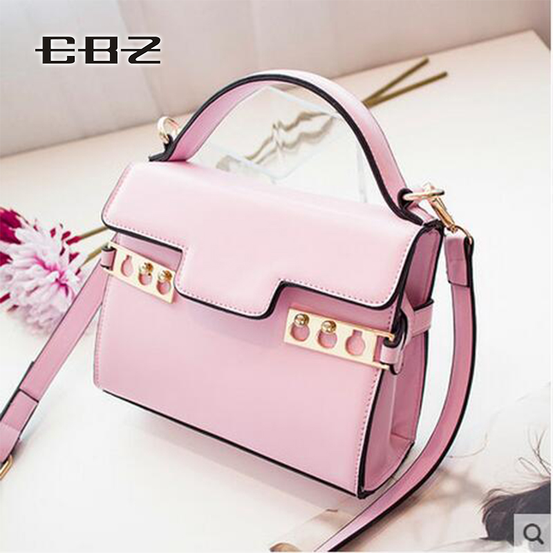 2016 Small Fresh PU Leather Shoulder Bag Mixed Shape Messenger Bags Korean Version Of The Lovely Ladies Small Bag Free Shipping<br><br>Aliexpress