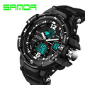 2016 New Brand SANDA Fashion Watch Men G Style Waterproof Sports Military Watches Shock Luxury Analog