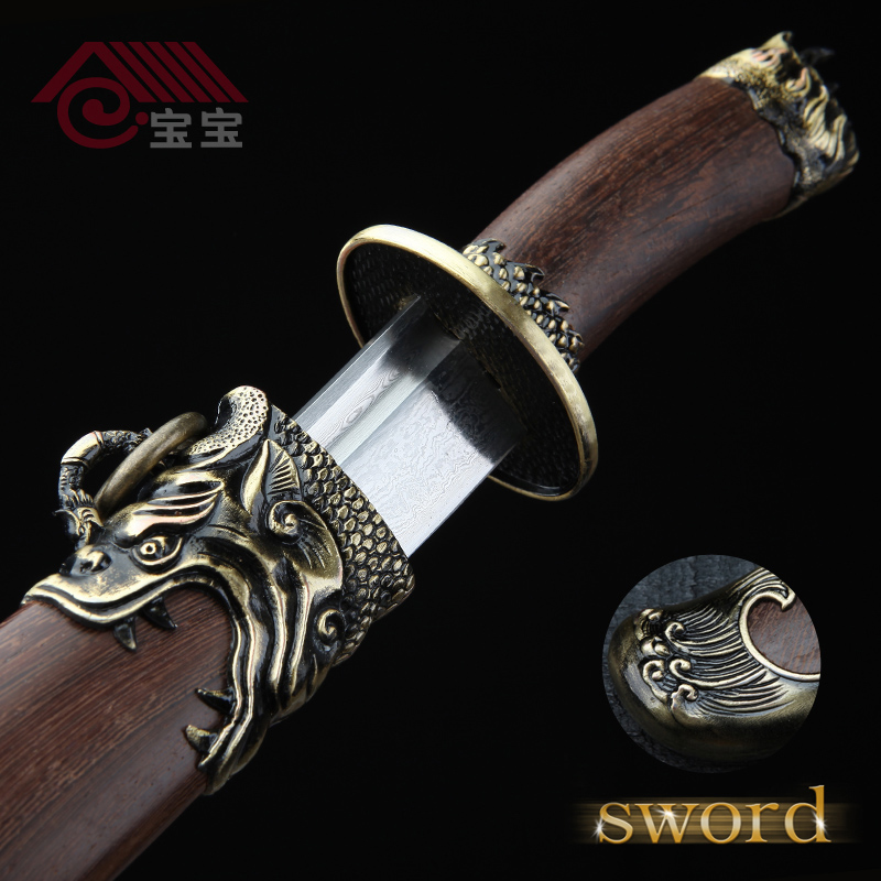 LQS15hj100021 collection sword vintage home decor Chinese dagger
