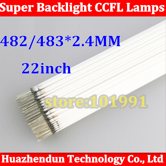 500pcs Free ship via HDL/EMS New 22 inch wide Backlight CCFL Lamps Highlight 483/482mm *2.4mm for LCD Monitor Free Shipping<br>