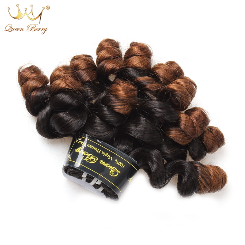 Фотография Funmi Hair Product Ombre Peruvian Tip Curl 1 Bundle 100% Unprocessed 10A Peruvian Virgin Hair Tip Curl Cheap 1B Human Hair Weave