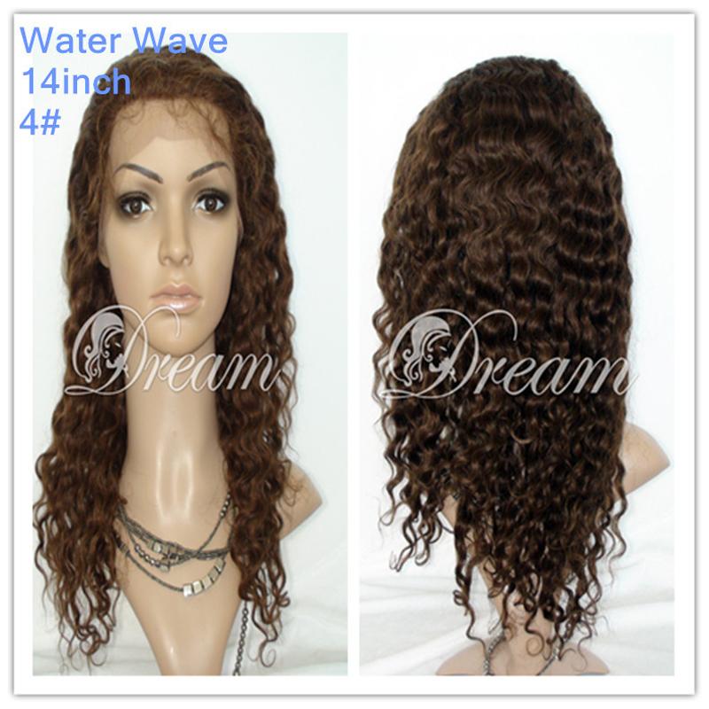 Water Wave Natural Human Hair Wig for Black Women Glueless Full Lace Wig 100% RAW Virgin Peruvian Remy Human Hair Full Lace Wig<br><br>Aliexpress