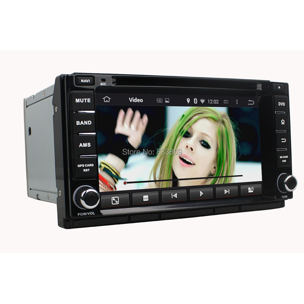 """1024*600 HD 2 din 7"""" Android 5.1 Car DVD GPS for Great Wall M4 With 3G WIFI PC Bluetooth IPOD TV Radio USB AUX IN DVR 16GB ROM(China (Mainland))"""