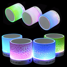 LED Портативный Мини Bluetooth Колонки Беспроводной Нч-Динамик С TF USB FM Радио Плеер Для Samsung Телефон iPhone 5 6 6 s 7(China (Mainland))