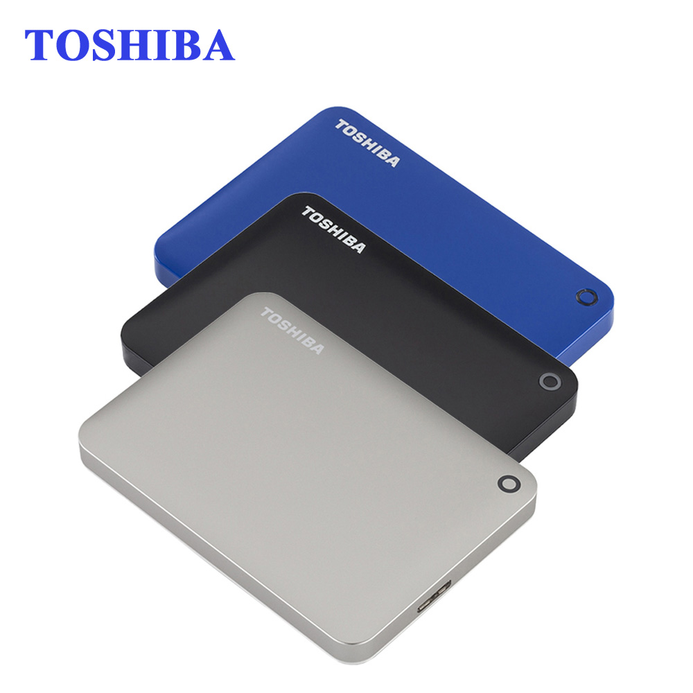 "Toshiba Canvio Connect II 2.5"" External Hard Drive 500G/1TB/2TB USB 3.0 HDD Hard Disk Desktop Laptop Storage Devices HD Disk(China (Mainland))"