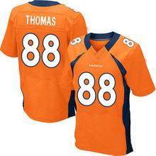 Men's #88 Demaryius Thomas Elite Orange Team Color Football Jersey %100 Stitched(China (Mainland))