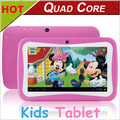 cheap 7 inch Quad Core kids tablet pc Android 4.4 wifi Dual Camera & Educational Games App children birthday gift Kids pad
