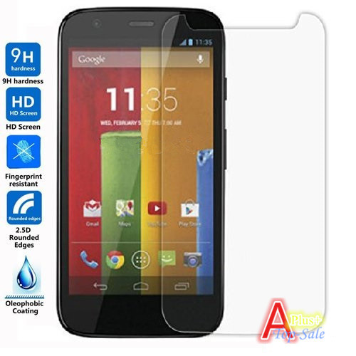 For Motorola Moto G XT1028 XT1032 XT1033 , 0.26mm Tempered Glass Screen Protector Protective Film Premium Explosion-Proof Clear(China (Mainland))