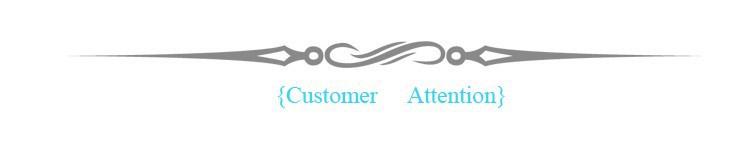 customer attention