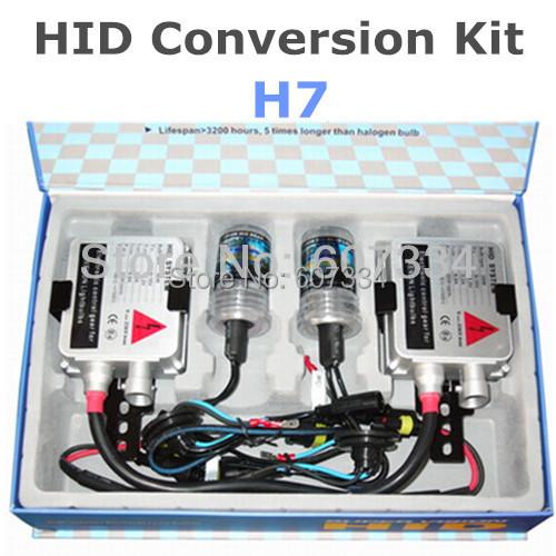 Stock Shipping New 12V/35W CE HID Xenon Conversion Kit (H7) Single Beam(3000K/4300K/6000K/8000K) For Headlight Foglight(China (Mainland))