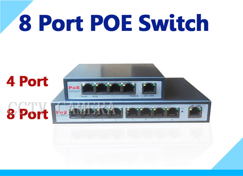With 8-port PoE switch 8+1 Port desktop Fast Ethernet Switch Dahua network cameras powered POE31008P<br><br>Aliexpress