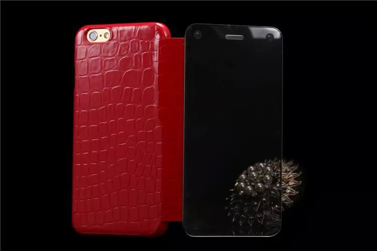 "XUENAIR HOT SALE NEW Mirror Crocodile Series Mobile Phone Bag For Apple IPhone 6 4.7"" Case Cover For IPhone6 4.7"" Free Shopping(China (Mainland))"