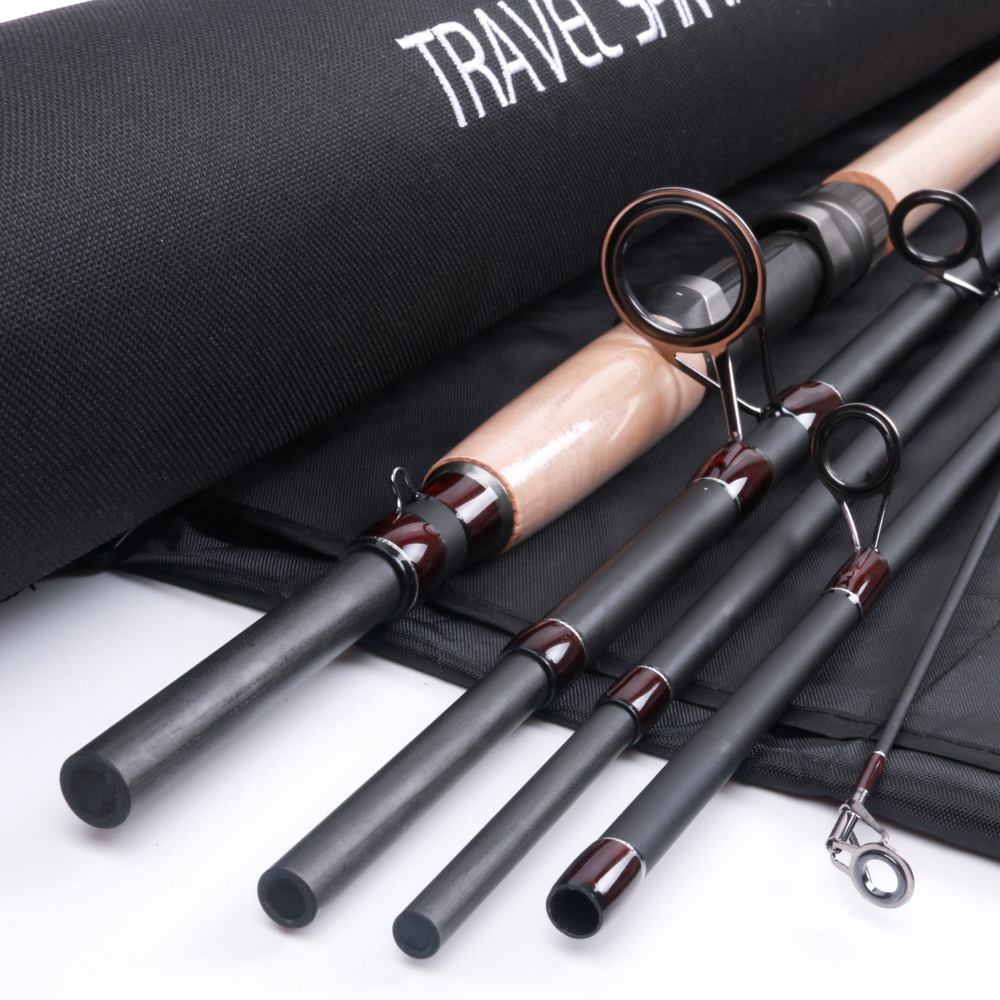 New Design Travel Spin Fishing Rod 9FT 5Sections Travel Spin Rod With A Aluminum Tube Spinning Rod(China (Mainland))
