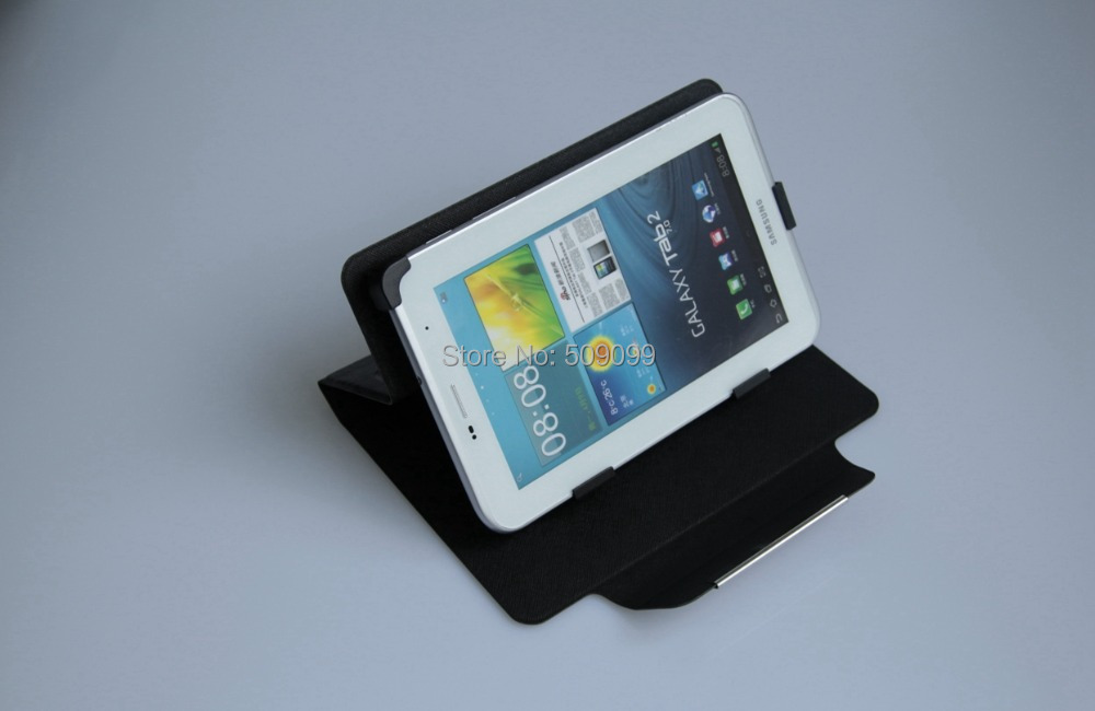 8 inch PU Leather Case Flip Universal With magentic closure 8 inch Case Cover With stand for 8 inch Tablet MID PDA 300pcs/lot(China (Mainland))