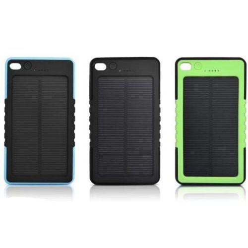 Solar Portable Power Bank External Battery 8000mAh LED Waterproof Charger powerbank For Smartphones ipad Samsung iphone(China (Mainland))