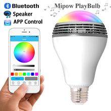 MiPow PLAYBULB X Bluetooth 4.0 Wireless Smart LED Bulb Beats Audio Speaker Light Lamp For iPhone Android E27/E26 110V – 220V