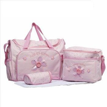 Free shipping new 2014 nappy mummy bag print maternity handbag diaper bags baby tote