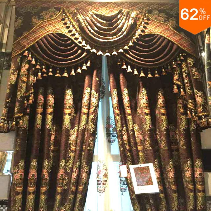 2016 New Heavy Luxury Magnetic Curtain With Magnet Window