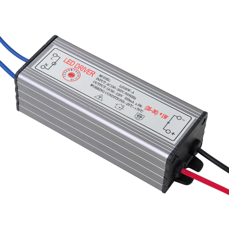 25-36W LED Driver Power Supply Waterproof IP67 Constant Current AC100-260V 300mA Used For Various Of Outdoor Lighting<br><br>Aliexpress
