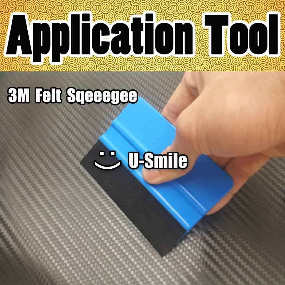 100 pcs/Lot Car Application Tools Soft Flexible 3M Squeegee Car Wrapping Tools 3M Felt Scraper Window Film &amp; Sign Vinyl<br><br>Aliexpress