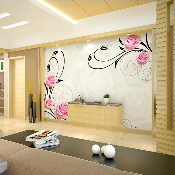 Large mural modern photo wallpaper or paint print wall for Large print wallpaper