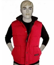 Wholesale and retail Warm thickening hardy men outside ski down jacket down vest TOP quality(China (Mainland))