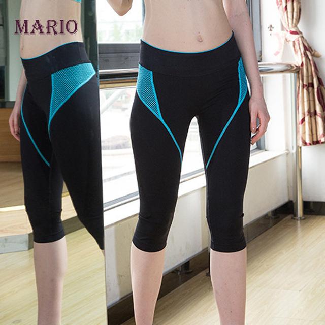 2015 весна Высокого Качества женщин спортивные штаны женщин фитнес спорт леггинсы ...