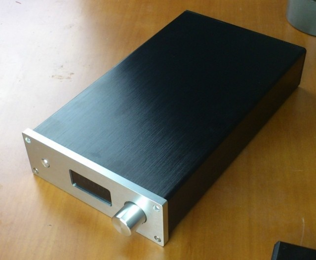 1706 aluminum enclosure chassis psu power supply preamp amplifier DIY audio(China (Mainland))