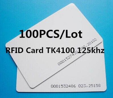 new year High quality RFID card TK4100 125 kHz RFID card ID card is suitable for access control and attendance(China (Mainland))