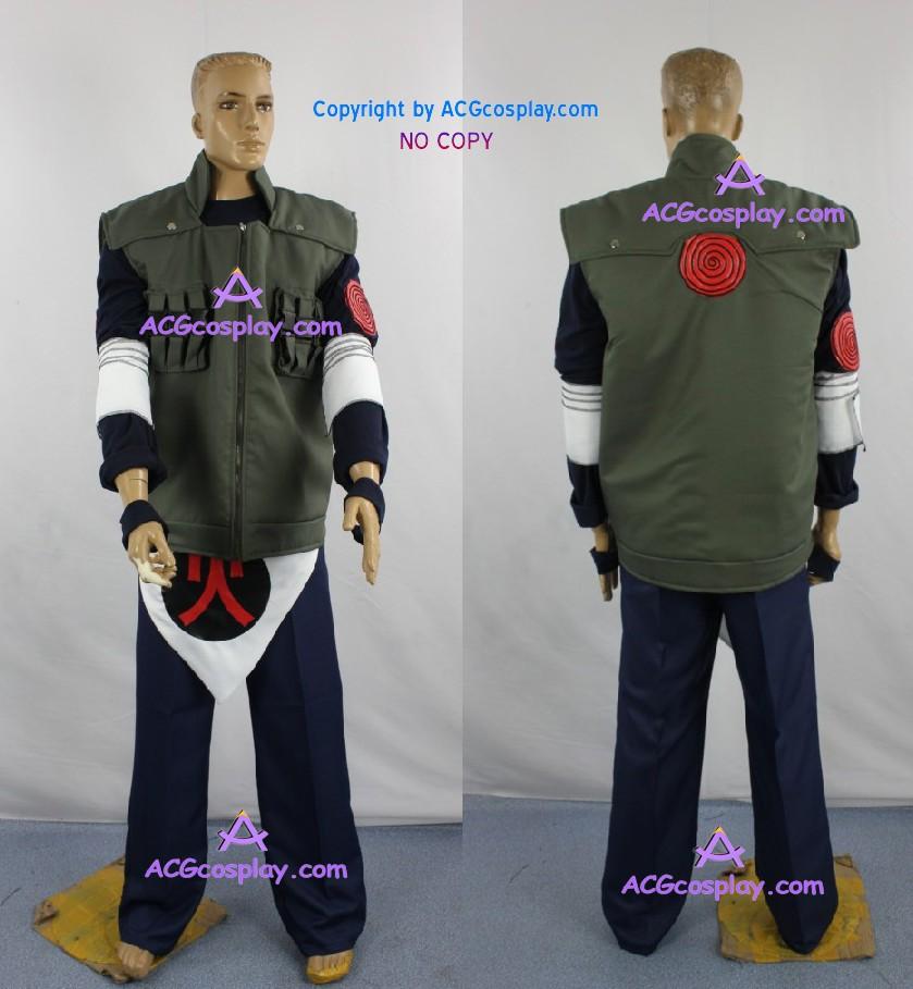 Naruto Team 10 Team Asuma Asuma Sarutobi Cosplay Costume anime Cosplay365buy