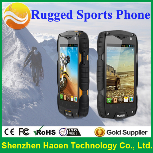 "2014 4.0 "" Best Rugged Phones GPS Quad Core waterproof dustproof Phones shockproof IP68 Mobile Phones(China (Mainland))"