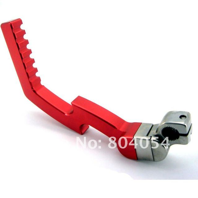 RED CNC KICK START STARTER LEVER  XR50 CRF70  70cc 110cc & 125cc Chinese PIT BIKE