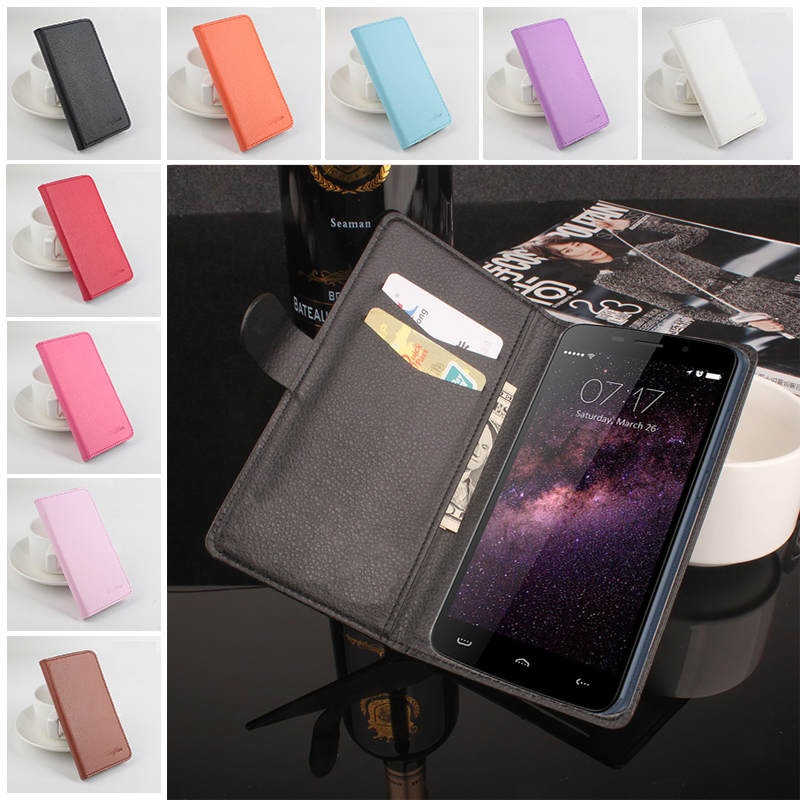9 Styles Litchi Texture Wallet Flip Cover Homtom HT17 Pro Case PU Leather Phone Cases Bags Homtom HT17 Card Holder