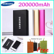 2015 Baterias Externas Cargador Portatil 200000mah Power bank for Celular Powerbank USB External Battery Charger Samsung Mobile(China (Mainland))