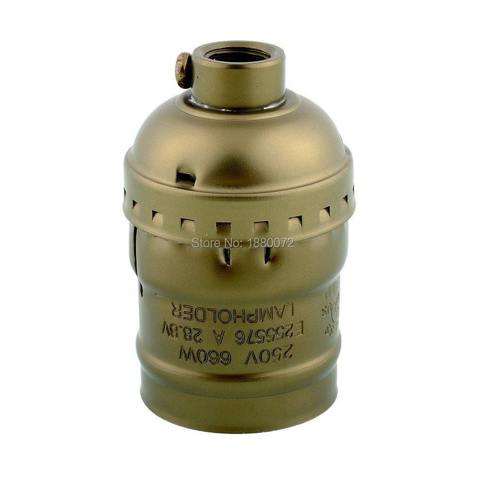 E27/E26 lamp Socket Edison Retro Pendant Lamp Holder vintage Edison style lamp base keyless(China (Mainland))
